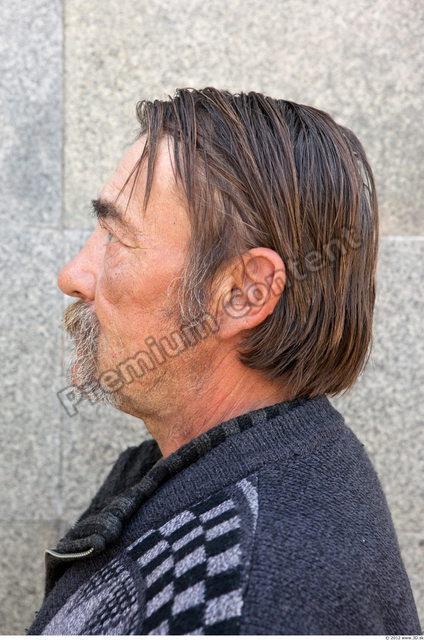 Head Man White Chubby Bearded