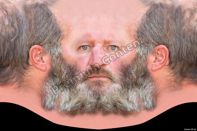Head Man White Bearded