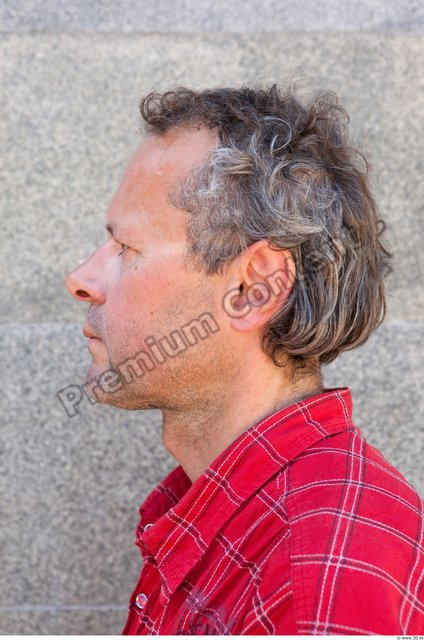 Head Man Casual Average Street photo references