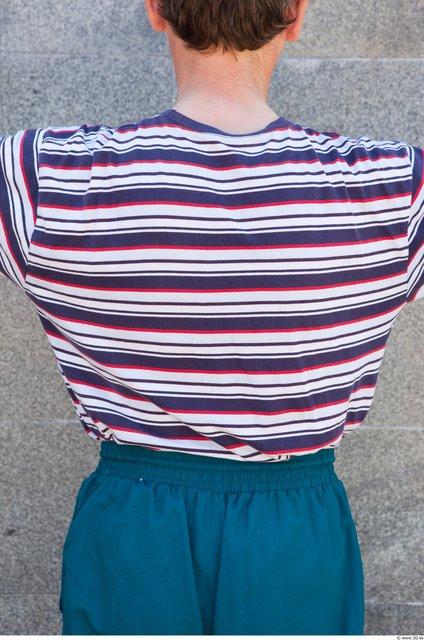 Upper Body Head Man Casual Shirt T shirt Average Street photo references
