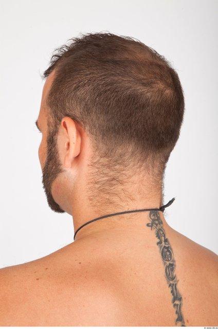 Whole Body Head Man Animation references Tattoo Casual Jewel Average Studio photo references