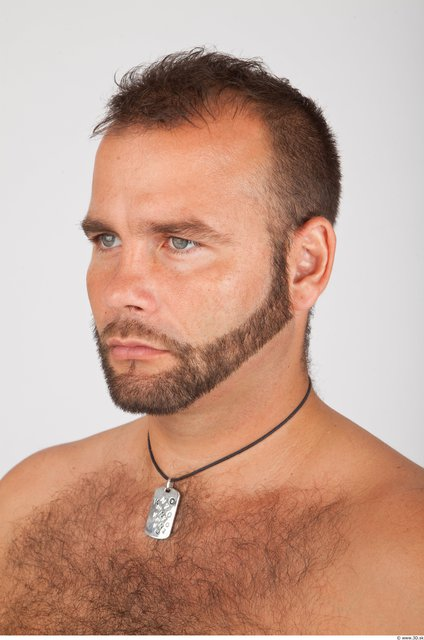 Whole Body Head Man Animation references Casual Jewel Average Bearded Studio photo references