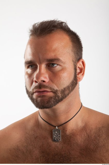Head Man Animation references White Average Bearded