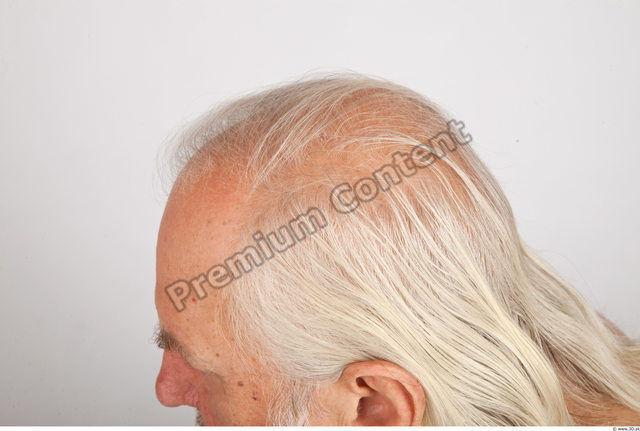 Hair Man White Average Wrinkles