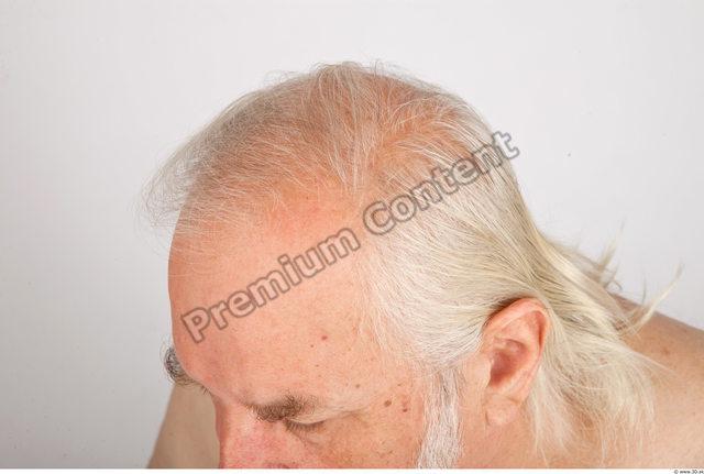 Hair Man White Average Wrinkles