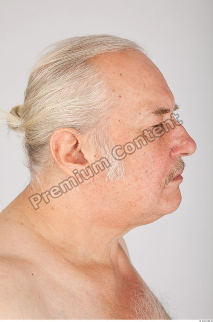 Head Man White Average Wrinkles