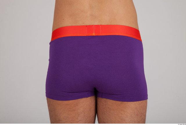 Whole Body Bottom Man Underwear Sports Pants Slim Studio photo references