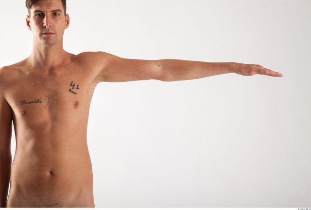 Arm Man Animation references White Nude Athletic