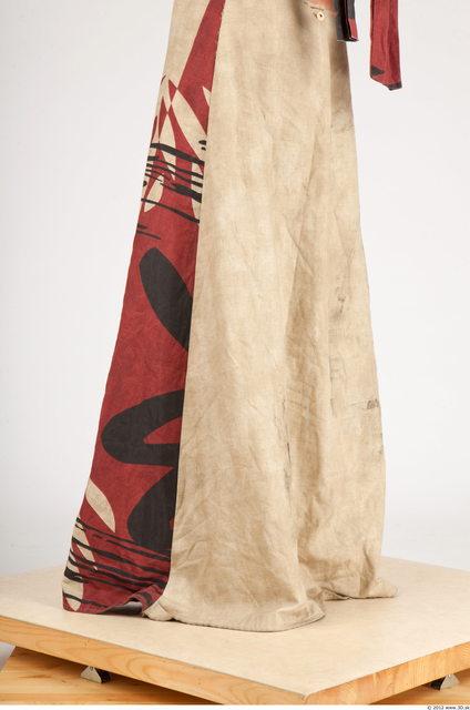 Leg Whole Body Man Historical Skirt Slim Studio photo references