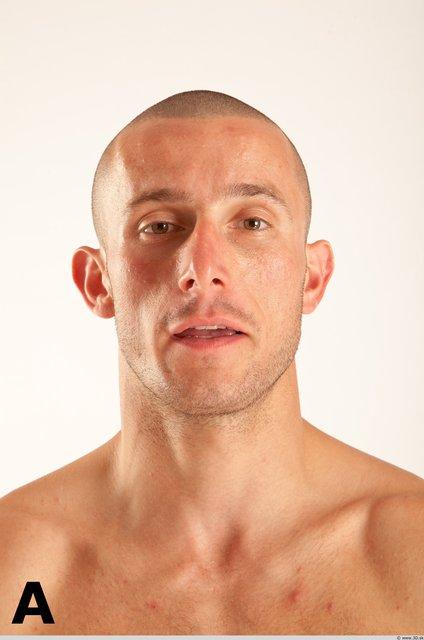 Head Phonemes Man White Athletic