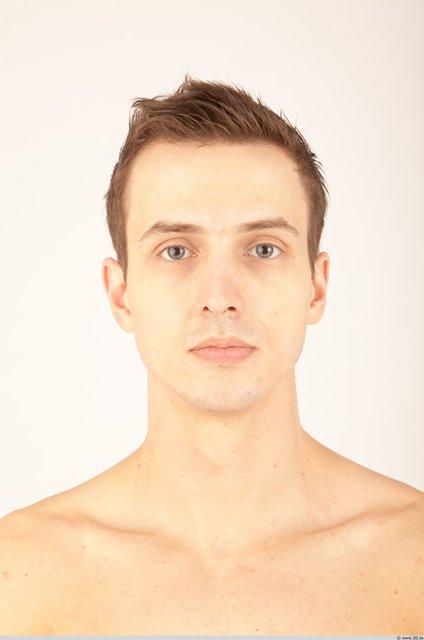 Whole Body Head Man Nude Athletic