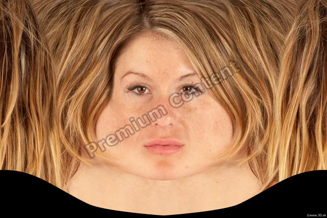 Face Woman White Head textures