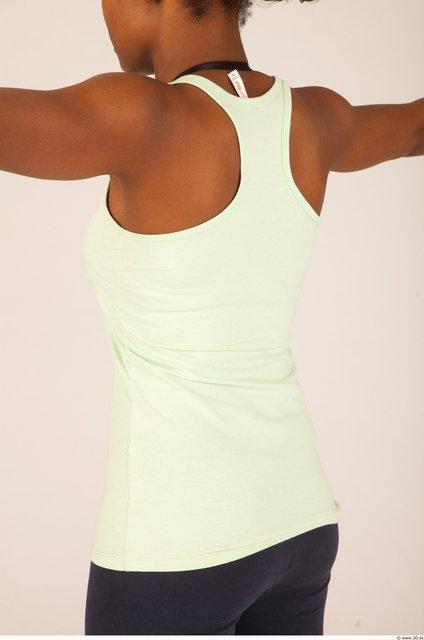 Upper Body Whole Body Woman Sports Singlet Average Studio photo references