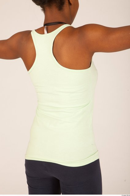 Upper Body Whole Body Woman Sports Singlet Average Studio photo references