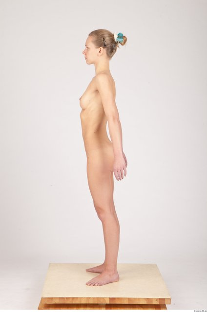 Whole Body Woman Animation references Nude Slim Studio photo references
