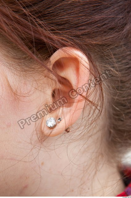 Ear Woman Casual Jewel Average Street photo references