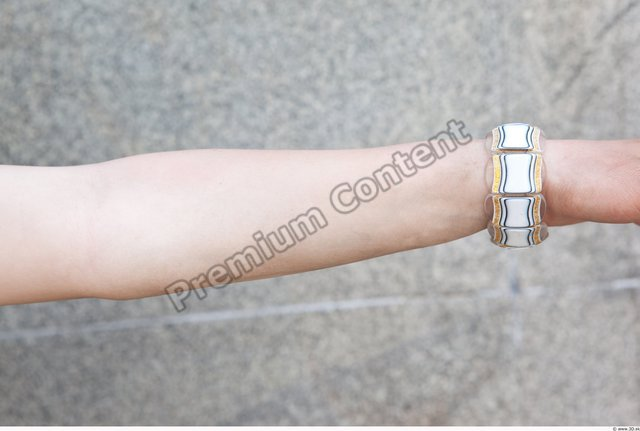 Forearm Woman Nude Casual Average Watch Street photo references