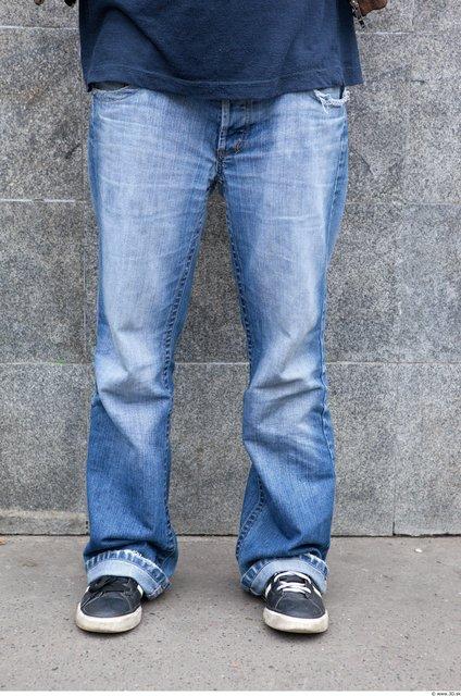 Leg Woman White Casual Jeans Average