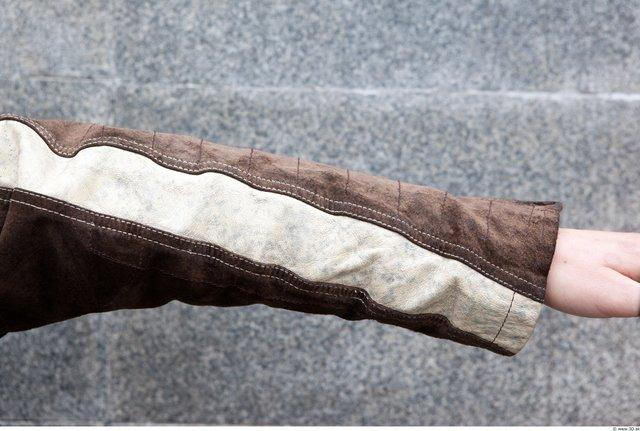 Forearm Woman White Casual Jacket Average