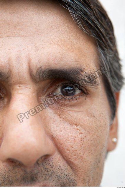 Eye Man White Average