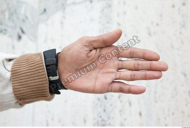 Hand Man White Average Watch