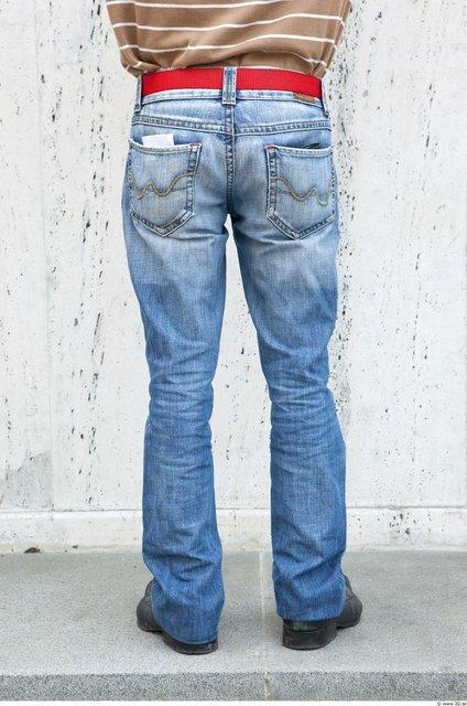 Leg Man White Casual Jeans Average