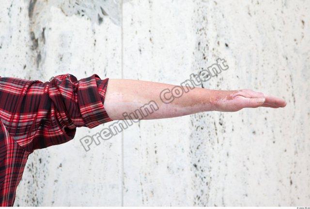 Arm Woman White Casual Shirt Average