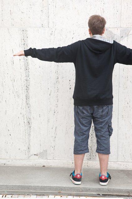 Whole Body Man T poses White Casual Average