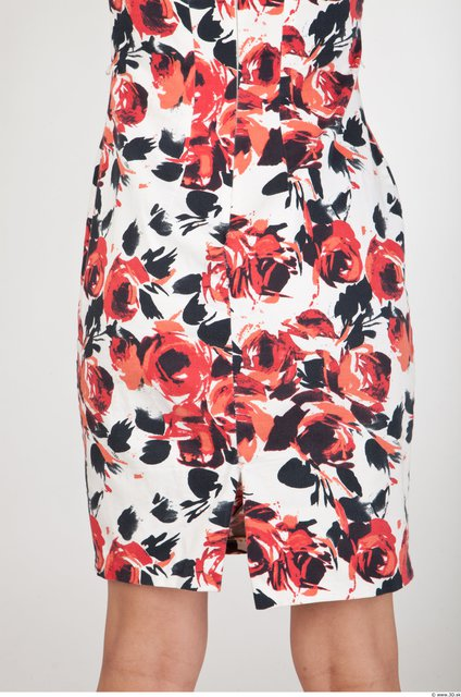 Thigh Formal Dress Slim Studio photo references