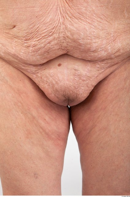 Female genitals Woman Nude Average Wrinkles Studio photo references