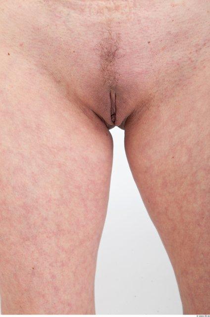 Female genitals Woman Nude Slim Studio photo references