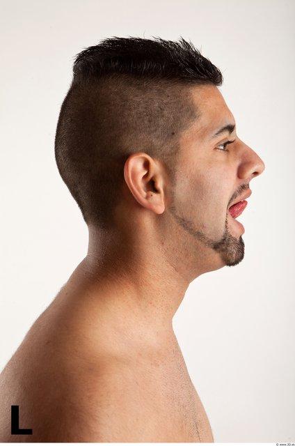 Head Phonemes Man White Athletic Bearded
