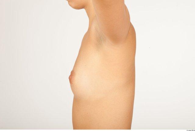 Hair Breast Woman Slim Studio photo references