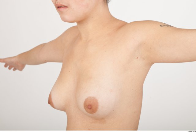 Breast Woman Asian Nude Slim Studio photo references