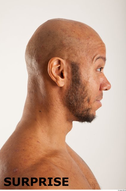 Head Emotions Man Another Muscular Bald