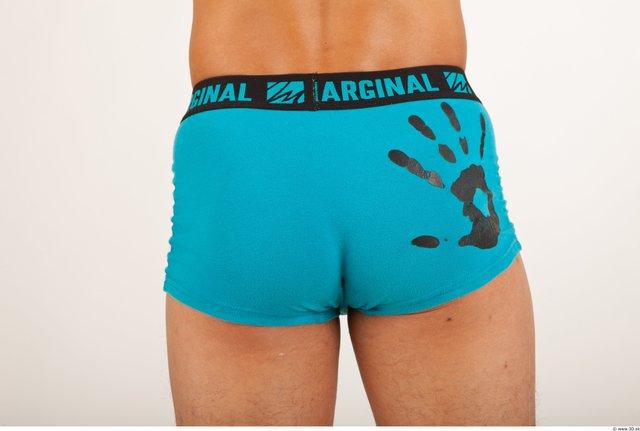 Thigh Hips Bottom Man Asian Underwear Shorts Average Studio photo references