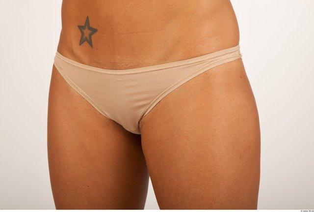 Bottom Woman Black Tattoo Underwear Panties