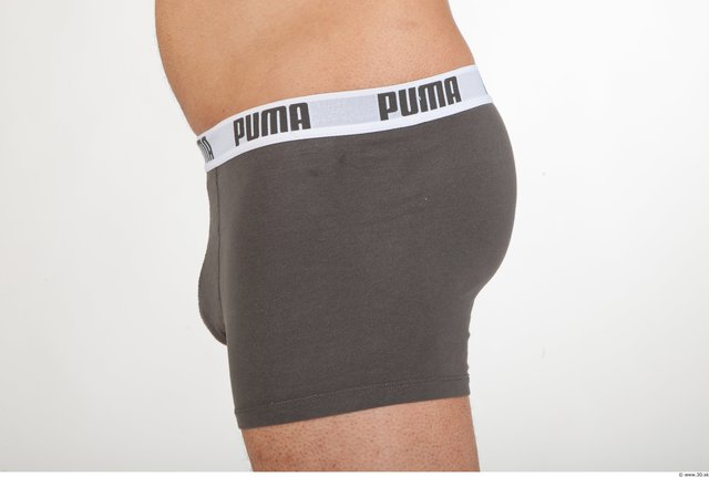 Bottom Man Underwear Shorts Average Studio photo references