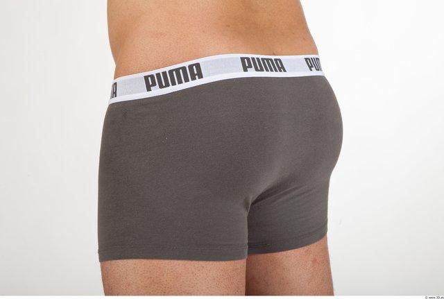 Bottom Man Underwear Shorts Average Studio photo references