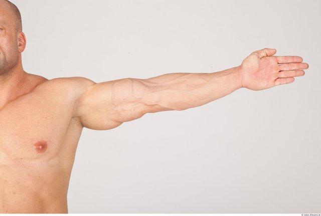 Whole Body Man White Underwear Muscular