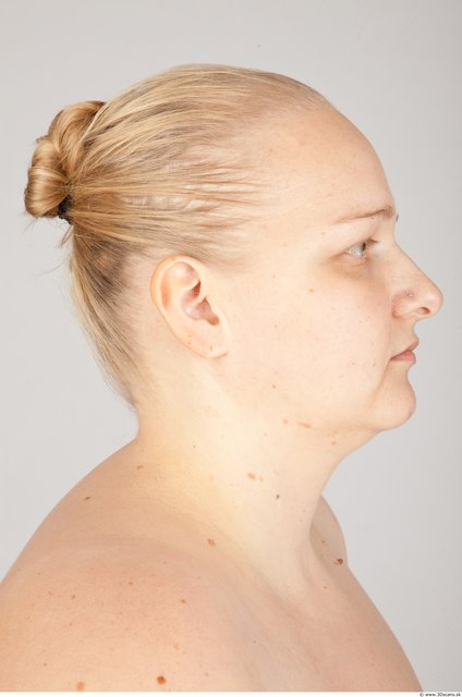 Head Woman White Overweight