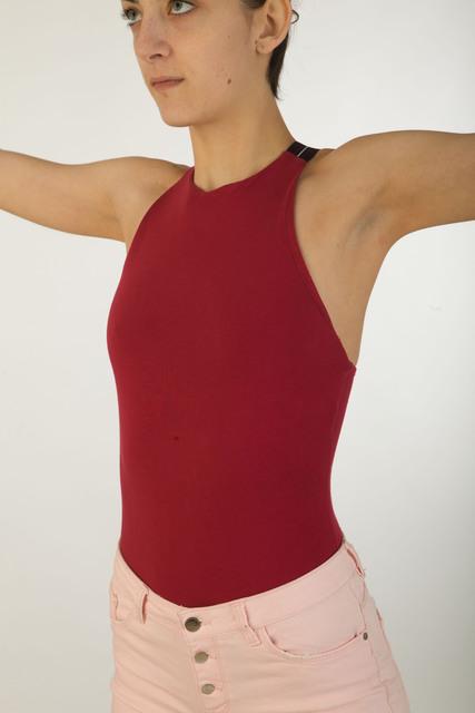 Upper Body Whole Body Woman Average Studio photo references