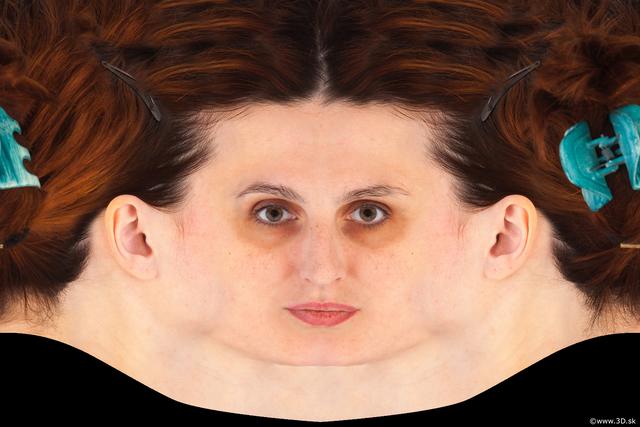 Head Woman White Head textures
