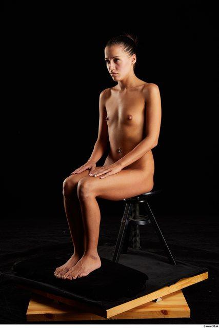 Woman Nude Sitting