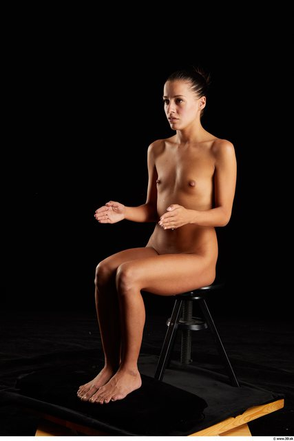 Woman Nude Sitting