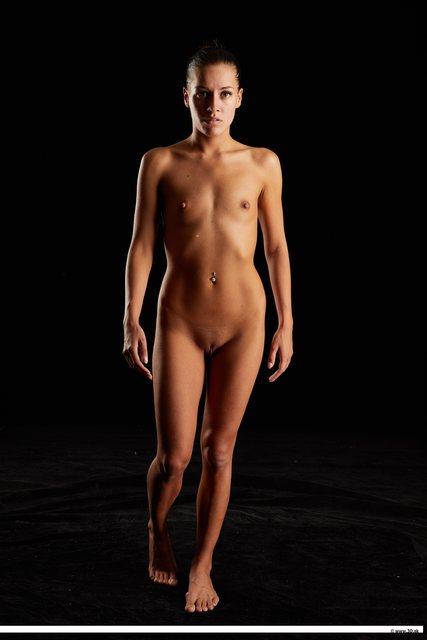 Woman Nude Walking