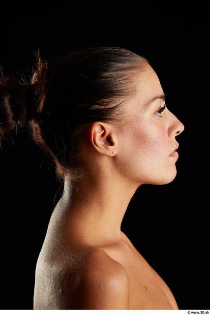 Head Woman White Slim