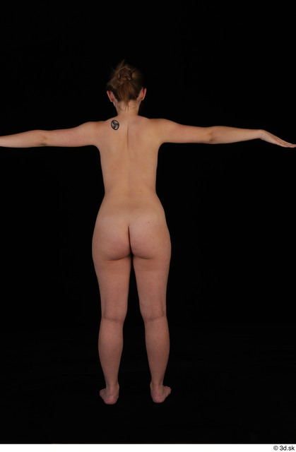Whole Body Woman T poses Nude Slim Studio photo references