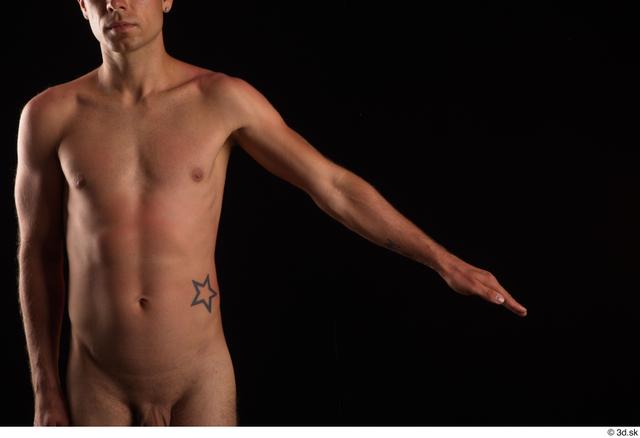 Arm Man White Nude Slim