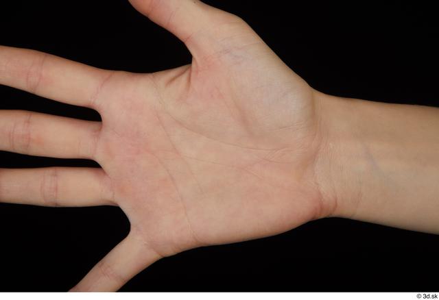 Hand Woman Slim Palm